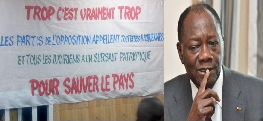 l'opposition ivoirienne et Alassanna Ouaattara LEDEBATIVOIRIEN.NETa LQ