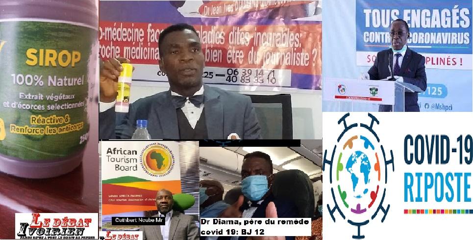 Dr Diamana guérit le covid-19 BJ12 LEDEBATIVOIRIEN.NET