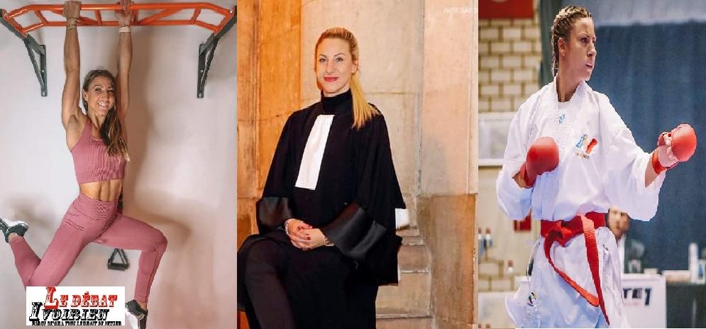 Alexandra Recchia, avocate, athlète et karatékate, championne du monde ledebativoirien.net