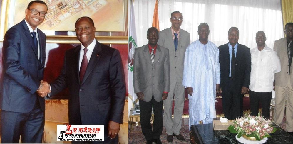 Barbouze et activités au palais d'Abidjan Franklin Nyamsi dit avoir dit NON à Ouattara ledebativoirien.net