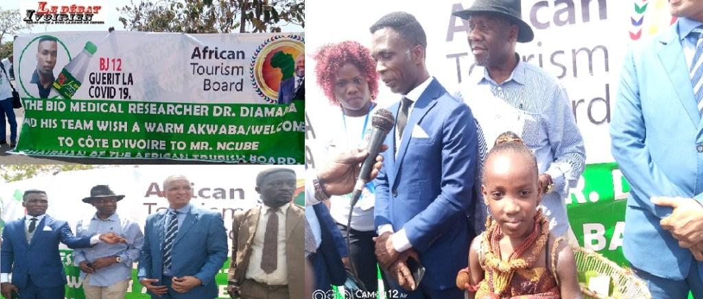 Conseil exécutif de tourisme africain-guéri du covid-19-Chairman NCUBE: «Je soumettrai le volet Dr Diamana et son groupe au centre de nos discussions» LEDEBATIVOIRIEN.NET