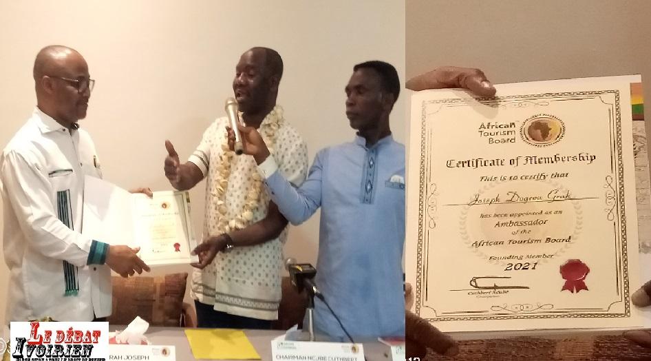 urgent-Tourisme africain: Chairman Cuthbert Ncube désigne l'ivoirien Yves Diamana-Directeur du conseil africain de tourisme médical ledebativoirien.net