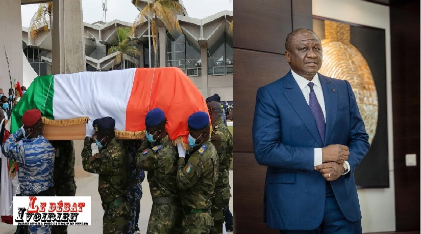 """urgent-Cote d'Ivoireau bord d'une """"épidémie"""" de crack: un bien un curieux hommage à hamed bakayoko LEDEBATIVOIRIEN.NET"""
