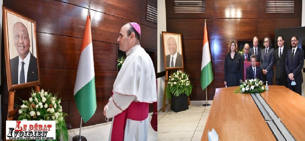 Deuil national: la communauté internationale en Côte d'Ivoire salue la mémoire d'un homme d'Etat, Hamed Bakayoko LEDEBATIVOIRIEN.NET