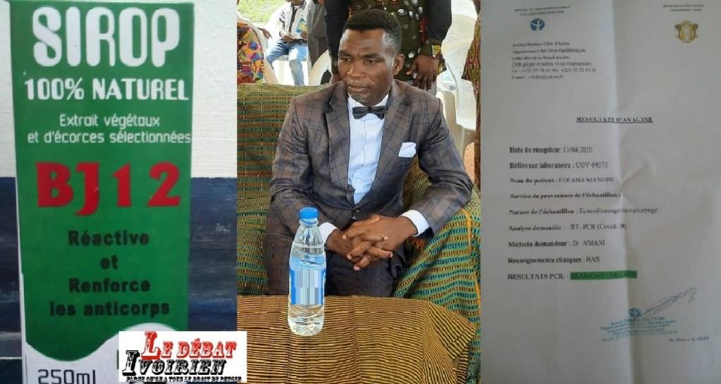 Côte d'Ivoire-santé: le Biomédecin chercheur Dr Diamana confirme l'efficacité du BJ12 à la disposition des populations contre la Covid-19 ledebativoirien.net