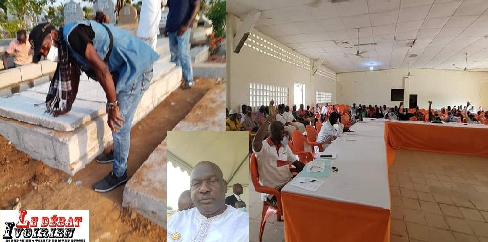 mort du député hassanedeuil à Mankono colère conseil municipoal ledebativoirien.net