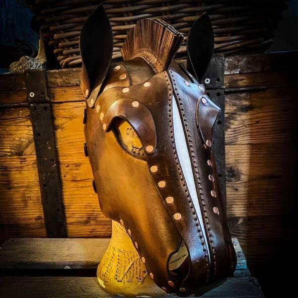 Pferdemaske, Animalplay, my dirty hobby, Verkleidung, Fasching