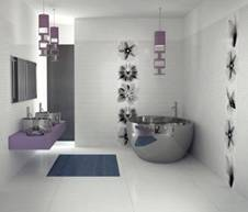 baignoire douche carrelage pas cher