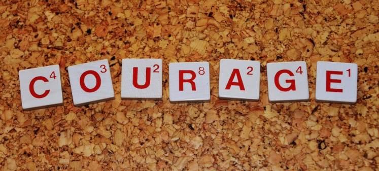 Courage développement personnel scrabble