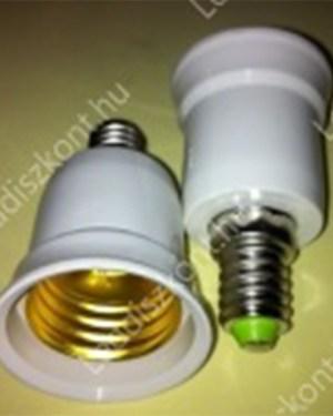 Átalakító adapter E14-E27