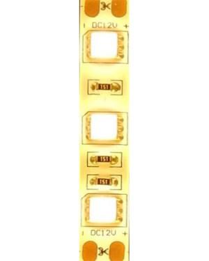 Extra erős Led szalag IP65, vízálló, 60 ledm, 5050 chip, 1030 Lumen, 2700 Kelvin IGAZI MELEG FEHÉR, E dupla fényerő!