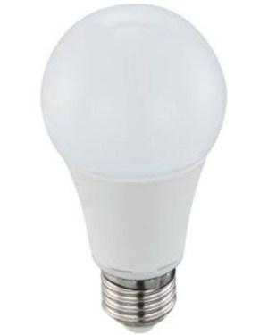 Led körte égő 12W, közép fehér 4200 Kelvin, 1305 lumen, 100W izzó helyett. E27, fejátmérő 60 mm nem vibrál a fénye! 3 év garancia!