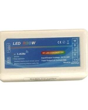 RGBW led szalag csoport vezérlő, 288W, rádiós. RGB esetén 216W