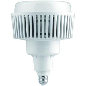 Led csarnokvilágító 100W, 8400 lumen, 130W fémhalogén izzó helyett. E27, 190 mm, 4000K, közép fehér, nem vibrál a fénye!