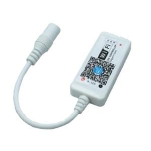 Wifis RGB RGBW Music univerzális led szalag vezérlő, 192W, időzíthető is! 2év garancia