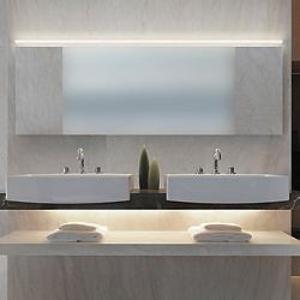mosdók-hangulatvilágítással Led hangulatvilágítás a fürdőszobába ötletek Tippek