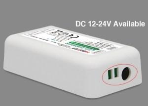 Milight fényerőszabályozó szett, dimmer touch távirányító+vezérlő (FUT021) tápfeszültség 12-24V