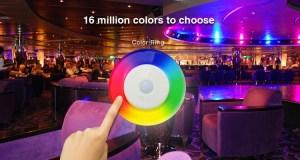 Milight távirányító 4 zónás (FUT096) RGB színek