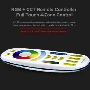 4 zónás RGB+CCT+Dimmer kézi távirányító (FUT092)