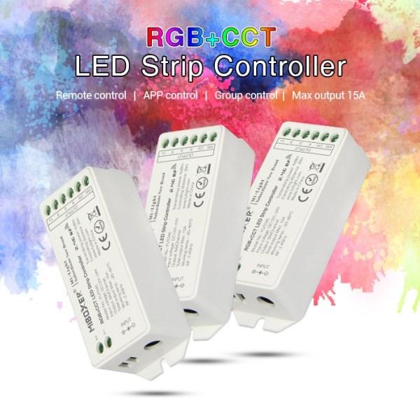 Vezerlo-RGB-CCT-RGBW-Dimmer-1-4-8-zonas-taviranyitokhoz-FUT045-600x600 Led szalag - amit tudni érdemes vélemények
