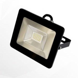 Slim smd led reflektor 20W, IP65, 1800 Lumen, 90°, 4000K, természetes fehér.