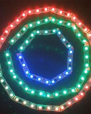 Magic, futófény led szalag 48 ledm, RGB, 366 program futtatható!