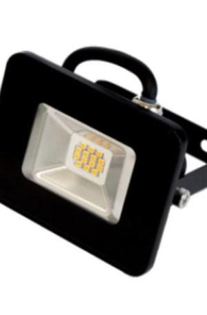 Slim smd led reflektor 10W, IP65, 900 Lumen, 90°, 4000K, természetes fehér.