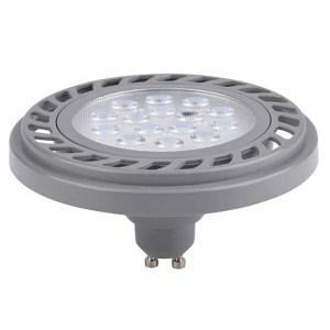 Led AR111, áru megvilágító lámpa. Extra fényerő, 230V 9W, 900 Lumen, 30°, 4000K közép fehér.