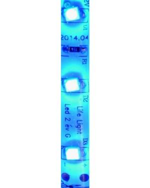 Led szalag 60 led m, 2835 chip, kék, extra erős fény, IP65 vízálló.