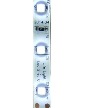 Led szalag IP65, vízálló, 60 led m, 2835 chip, 460 Lumen, 6000K, hideg fehér.