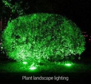 Vízálló kerti lámpa 15W 1200 Lumen (FUTC03) növény világítás