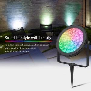 Vízálló kerti lámpa 15W (FUTC03) RGB-CCT 16 millió szín