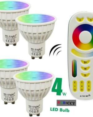 Távirányítós led fényforrások