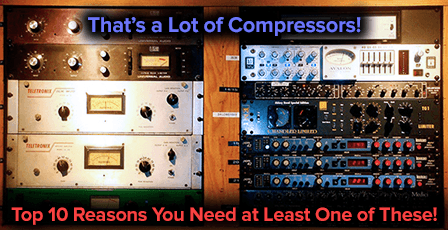 the best vocal compressors for studio