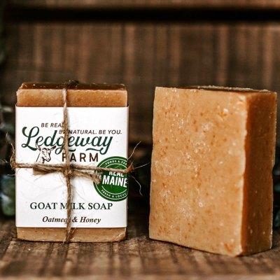 Oat and Honey Goat Milk Soap