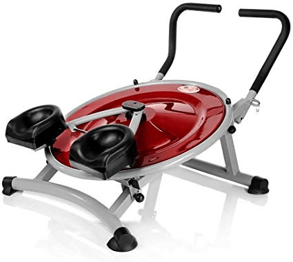 Ab circle workout abdominal machine