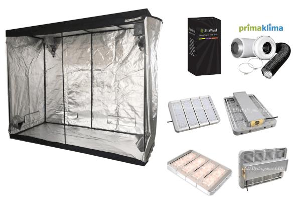 Tent Kit – 1.2 x 2.4 x 2