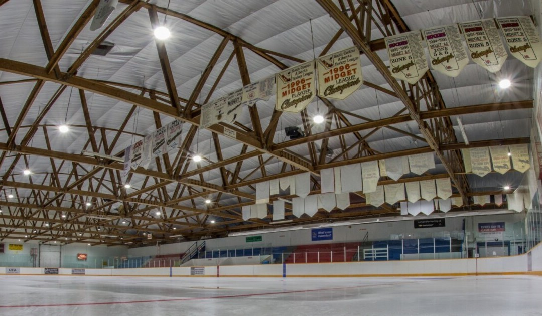 Town of Pincher Creek Upgrades Ice Arena to LED Lighting
