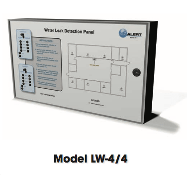 Zone Water Leak Detection Model LW-4