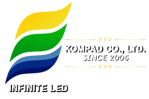 INFINITE LED LOGO FOOTER