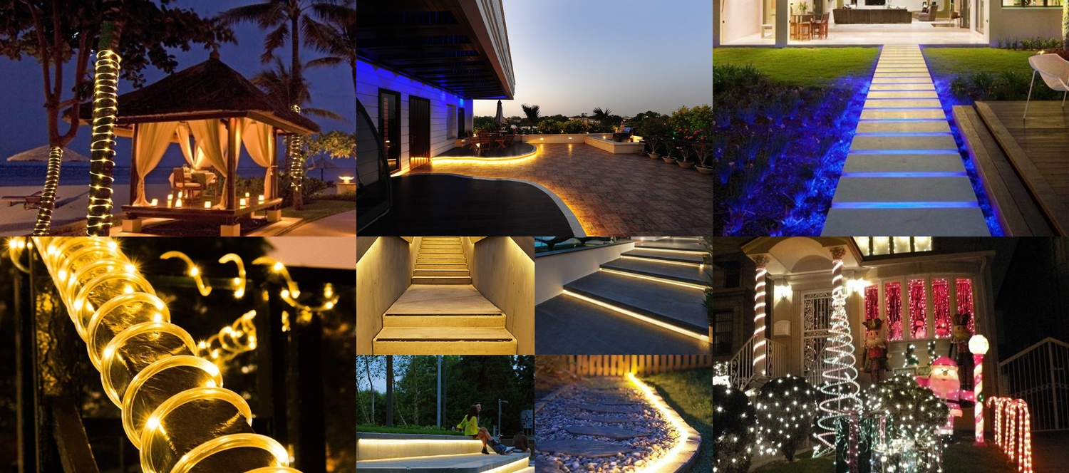 led rope lights for outdoor
