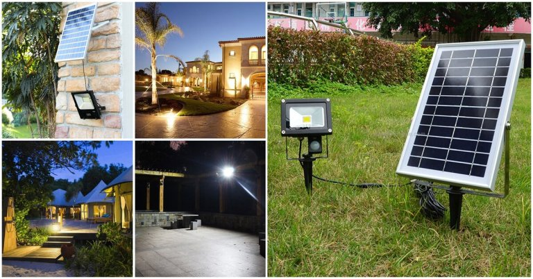 best solar powered flood light