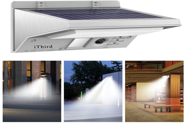 solar powered motion detector outdoor lights
