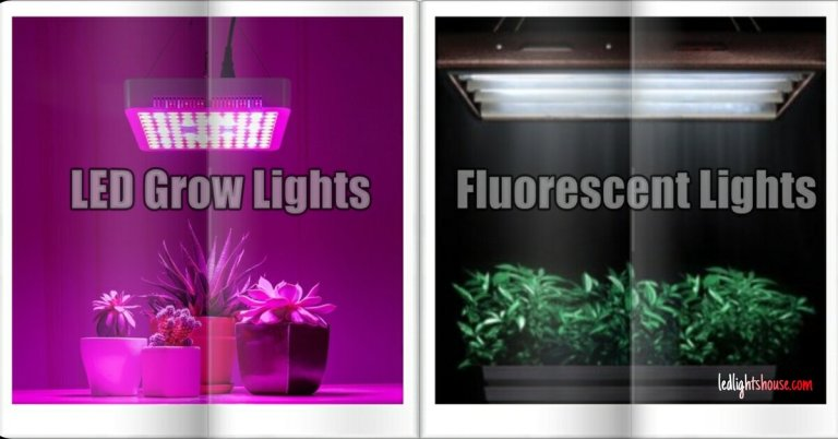 led vs fluorescent grow light