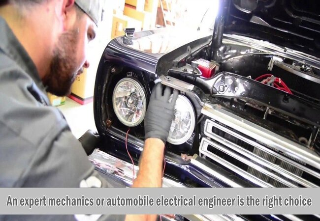 How to install LED bulbs in Projector headlights