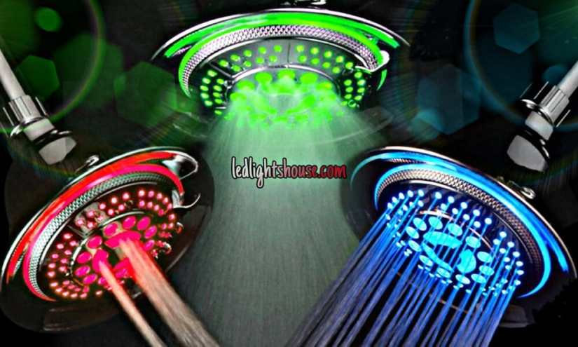 led shower heads review