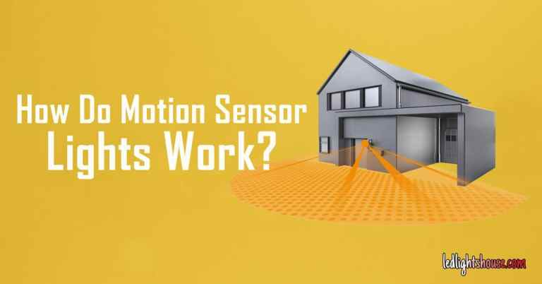 How do motion sensor lights work