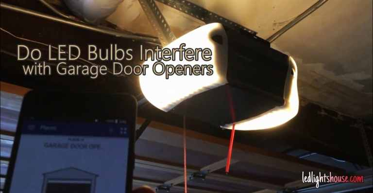 Do LED Bulbs Interfere with Garage Door Openers