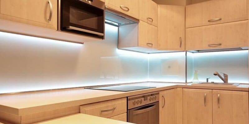 where to put led strips in room