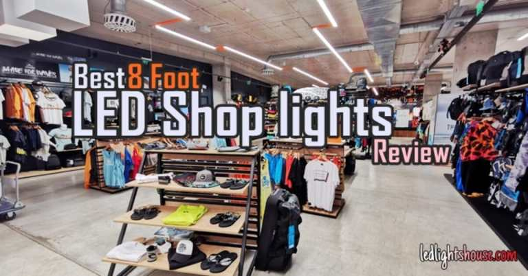 best 8 foot led shop lights